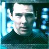 Khan (Benedict Cumberbatch) from Star Trek into Darkness